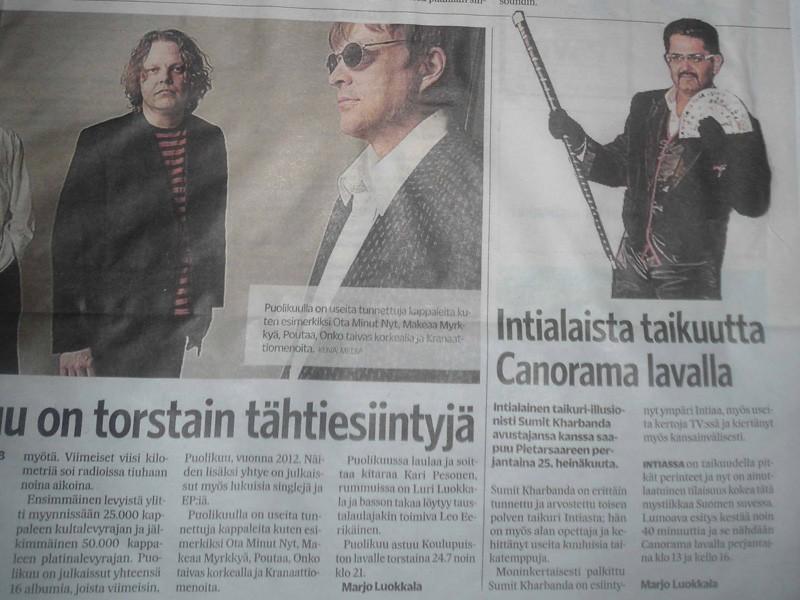Finland Newspaper