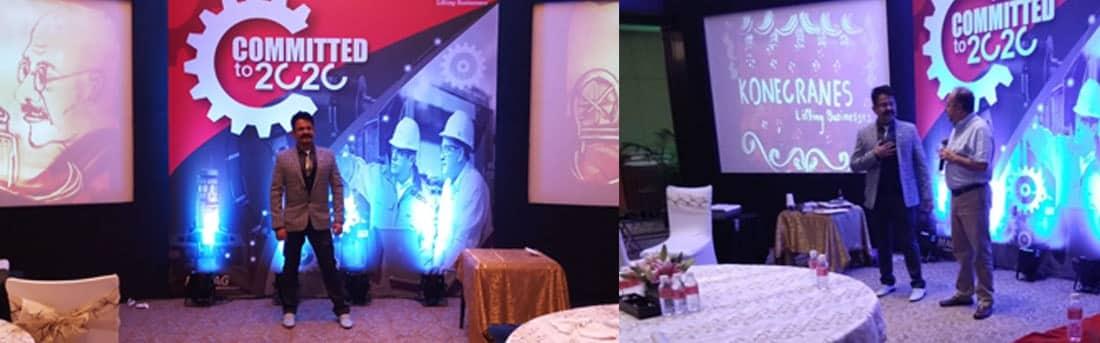 Meet up in hotel Shangri-La, Bangalore by Konecranes