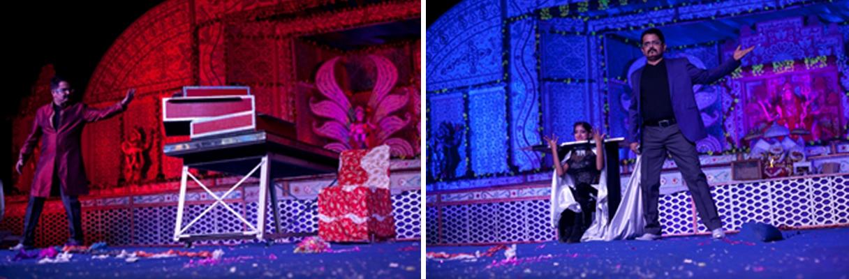 Illusionist and Mind Reader Sumit Kharbanda Entertained in Janamashtmi Festival